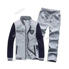 2014 Winter Casual Warm Stand Collar Hoodie Color Blocking Patchwork Hoodies Suits for Boy Men DCD-364491