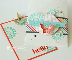 Stampin' Cards And Memories, Polka-Dot Pieces