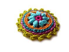 ○ Rosette ○ von crochet.jewels auf DaWanda.com