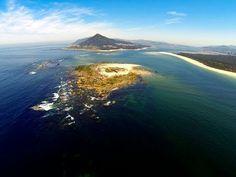 Zambujeira do Mar aerial view - YouTube