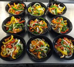 Downtown Campbell: Who says you can't have a fajita bowl for breakfast. Place order now to pick up Monday or Tuesday or even have it delivered on Tuesday. #leanfeast #mealprep #weightloss #cleaneating #steak #peppers #rice #greensauce #bowl #fajitabowl #fitsinyourmacros #macros #loseweight #healthy #summerbody #lean #flank #pickup #delivery #fresh #notfrozen #tasty #notbland #affordable by lean_feast
