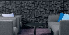 creative acoustical wall products | Soundwave VILLAGE