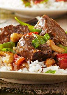 Slow-Cooker Asian-Style Beef – A little morning prep and this dinner recipe is essentially done.
