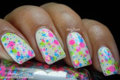 """Sassy Paints: """"Magic Cake"""" from Rainbow Honey's The Summer of 199X Collection"""