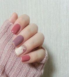 | Trendy nails / 2017 | {sparkle, glitter, nails, nail art, nail ideas, nail des…