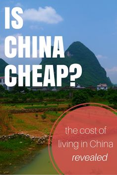 Is China Cheap? The Cost Of Living In China Revealed (http://www.goatsontheroad.com/is-china-cheap-the-cost-of-living-in-china-revealed/)