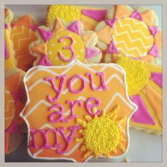 Sunshine sugar cookies