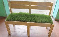 Grass Bench from Milan Desing Week