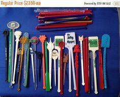 Now On Sale Lot of 50 Vintage Swizzle Sticks by GreatGatsbys