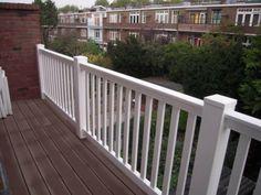 Kunststof balkonhek terras veranda balustrade hekwerk hek