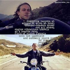 The first and last time we saw Jackson Teller. I miss him already :'(