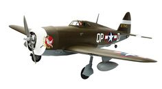 Aptly named for its indisputable ability to deliver total devastation from a dive, Republic produced thousands of the P-47s that served in the front lines around the globe during America's involvement in WWII.  The Hangar 9® P-47D-1 60 ARF is a remarkable tribute for the scale RC pilot who wants an authentic warbird sized to pack a punch, yet handles well during critical moments, such as those during landing or in high-speed maneuvers. Fully-sheeted construction complements the accurate…