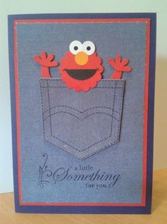 A Little Elmo for You! by Sarah B - Cards and Paper Crafts at Splitcoaststampers