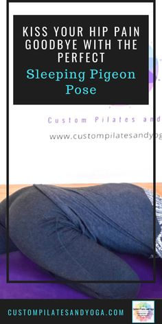 When you're suffering from hip pain, you want to get rid of the pain--fast! Choose a version of Sleeping Pigeon pose and feel your pain melt away. Healthy Habits, Healthy Life, Pilates, Hip Pain Relief, Become A Yoga Instructor, Pigeon Pose, Female Hormones, Muscles In Your Body, Hip Flexors