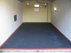 Garage  - Bodenfliese Bergo ROYAL in graphitgrau