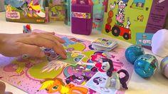 Juego de Mesa de My Little Pony más 3 Huevos Sorpresa de Peppa Pig y Jac...