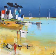 1533 - La plage - 40x40