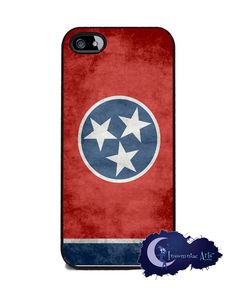 Tennessee State Flag iPhone 5 Cover. NEED!!