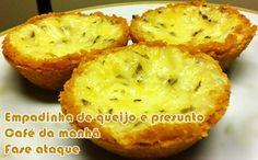 Empadinha dukan de queijo e presunto - Powered by @ultimaterecipe