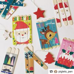 Recycle some old Christmas cards into simple puzzles to solve!