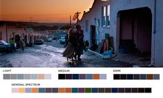 Movies In Color, A website featuring stills from films and their corresponding color palettes.