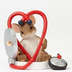 Charming Tails - You Are Good For My Heart Figurine - 4042545 - NIB!