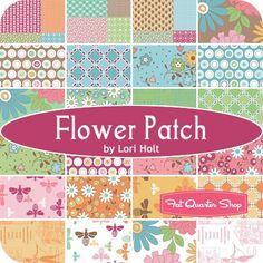 Flower Patch YardageLori Holt for Riley Blake Designs   Fat Quarter Shop
