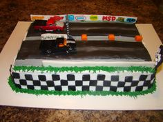 drag racing wedding cake | Pin Drag Race Cake By Artyliciouscakes Cakesdecorcom Cake on Pinterest