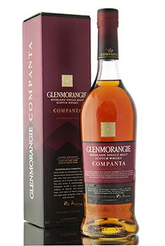 Following hot on the heals of Glenmorangie Ealanta, which was recently named 'World Whisky of the Year' by Jim Murray in his yearly whisky bible (2014), is Glenmorangie Companta Private Edition Release.   The spirit used to create Companta has been extra matured in Grand Cru casks from Clos de Tart and sweet fortified wine from Côtes du Rhône.   Companta is Scots Gaelic for 'friendship'.