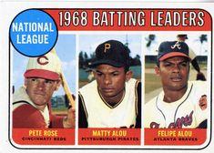 jesus alou baseball card   Alou's brothers Felipe and Jesús also played professional baseball ...