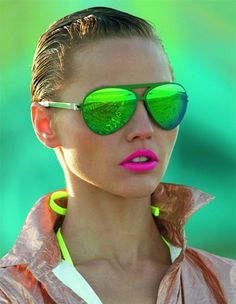 NEON NEON NEON - Click image to find more Women's Apparel Pinterest pins