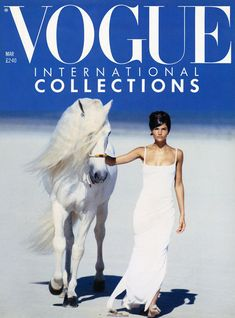 7 Era-Defining Peter Lindbergh British Vogue Covers (written by - MARCH 1990 Ushering in the first new fashion season of… Vogue Magazine Covers, Vogue Covers, Peter Lindbergh, Tim Walker, Linda Evangelista, Vogue Uk, Vogue Russia, World Of Fashion, High Fashion