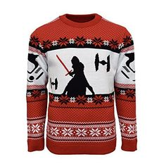 Details about Official Star Wars Kylo Ren Christmas Jumper / Ugly Sweater - Star Wars Shoes - Ideas of Star Wars Shoes - Official Star Wars Kylo Ren Ugly Christmas Sweater UK / US Official Star Wars Kylo Ren Christmas Jumper / Ugly Sweater. Knitted Christmas Jumpers, Christmas Knitting, Ugly Christmas Sweater, Holiday Sweaters, Star Wars Kylo Ren, Logo Tennis, Sweat Shirt, Sabre Laser, Shopping
