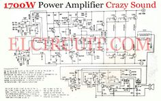 power amplfier is really crazy, sound is powerful. By having a power output of 1700W Mono at 8 Ohm load with power supply voltage of around 110VDC. Final transistor using Sanken C3264 and A1295. Bellow the circuit schematic and PCB Layout.