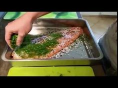 Küchenpraxis: Graved Lachs - YouTube