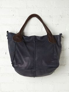 Free People Dani Leather Tote, $298.00    eh ma che prezzi!!!