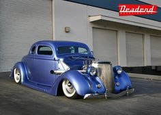 36 Ford chopped 5 window