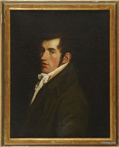 Portrait of John Blackburn, attributed to John Opie (1761-1807), British.