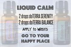 #doTERRA #liquidcalm #serenity #balance
