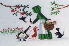 Lynn's Prints/Diane Graebner Hungry Guys - Cross Stitch Pattern. <3