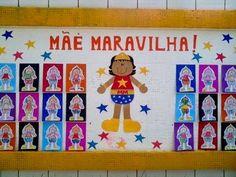 painel dia da mãe pré-escolar - Pesquisa Google                                                                                                                                                                                 Mais