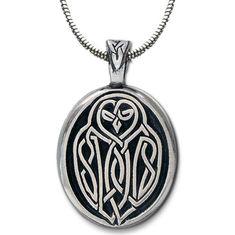Owl Pendant, Dragon Pendant, Celtic Symbols And Meanings, Celtic Druids, Celtic Necklace, Celtic Culture, Celtic Dragon, Trendy Necklaces, Celtic Designs