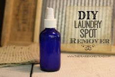 laundry stain remover recipe