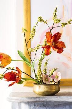 tropical flower arrangements | hawaiian bliss - tropical floral