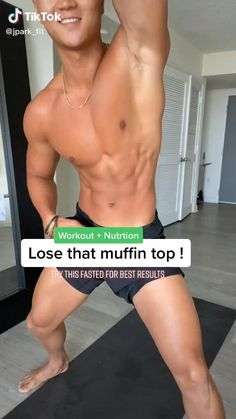 Watch this Easy Workout & Nutrition To Lose Muffin Top Or Belly Fat Workout TikTok by and achieve your body goals Fitness Workouts, Gym Workout Videos, Gym Workout For Beginners, Abs Workout Routines, Easy Workouts, Workout Plans, Home Body Weight Workout, Back Fat Workout, Belly Fat Workout