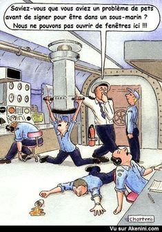 Des pets dans un sous-marin - Fart problem - Submarines. Mdr!!!