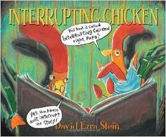 Interrupting Chicken by David Ezra Stein -- book review with a free graphic organizer for analyzing and writing fairy tales.