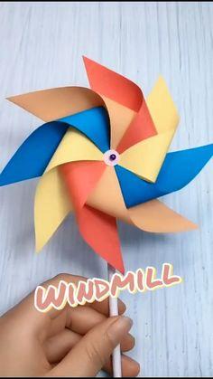 Enjoy! #paper #origami #ideas #toy #DIY #ad #sponsored #affiliate Paper Flowers Craft, Paper Crafts Origami, Diy Crafts For Gifts, Paper Crafts For Kids, Diy Arts And Crafts, Preschool Crafts, Fun Crafts, Fabric Crafts, Instruções Origami