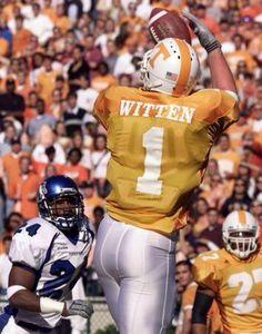 Jason Witten Tennessee Vols Tennessee Volunteers Football, Tennessee Football, Crimson Tide Football, University Of Tennessee, Cowboys Football, Football Helmets, College Football, Dallas Cowboys, Alabama Football