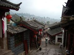 Street of old Lijiang, China